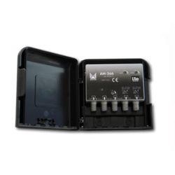 Alcad AM-366 Ampli uhf-uhf-dab/fm 32 db lte mat