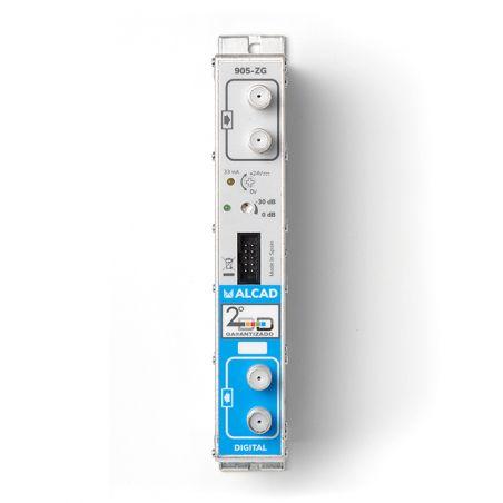 Alcad ZG-414 Amplificador tetracanal uhf, 53 db