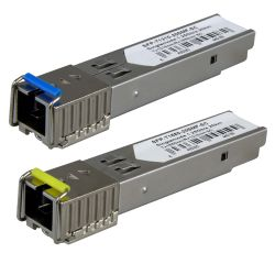 SFP-TR1513-20SMF-SC - Paire de modules émetteurs-récepteurs SFP, Tx…