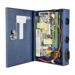 PD-120-9-SLIM - Slim power distribution box, 1 AC input 220 V 5OHz, 9…