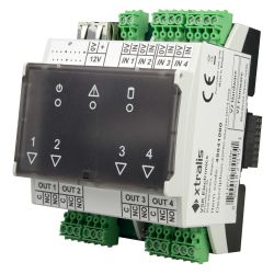 Xtralis XTL-49841010 - XTRALIS-Ethernet extension module Poe I/O slave, 4…