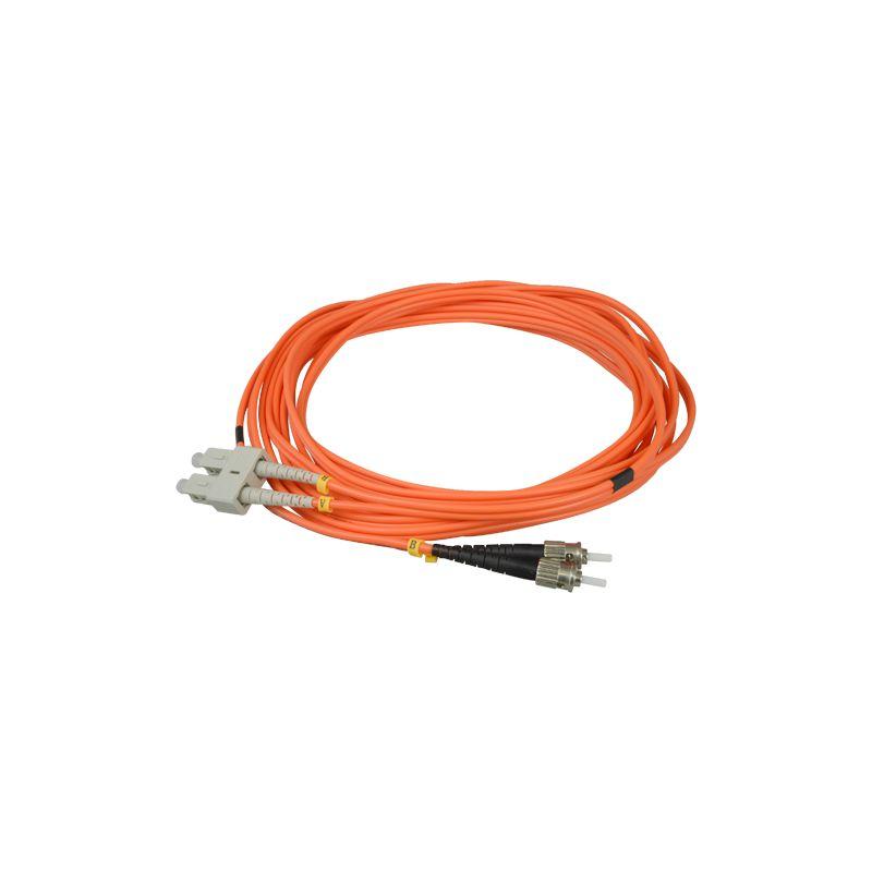 FB-SCST-DXMM-5 - Cable de fibra, Duplex, Multimodo, Conector SC a ST, 5…