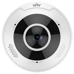 "Uniview UV-IPC868ER-VF18-B - 12 MP fisheye IP camera, 1/1.7\"" Progressive Scan CMOS,…"