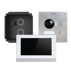 Dahua VTK-F2000-2 Kit videoportero ip dahua cam ext + monitor + acc - 2 hilos