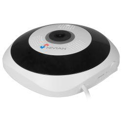 Nivian NV-IPDM360A-3W - , Caméra IP Fisheye, Resolution 3Mpx (2048x1536),…