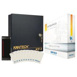 DSC KT-1-EU-1-SK-R Kantech kt-1 starter kit con un lector de tarjetas inteligentes y 10 tarjetas