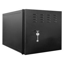 LOCKBOX-6U-SL - Closed metal case for DVR\'s, Specific for CCTV, For…