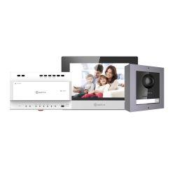 Safire SF-VIK001-S-2 - Kit de Videoporteiro, Tecnologia 2 fios, Inclui Placa,…