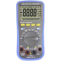 Promax PD-352 - Multímetro digital com RMS e Bluetooth