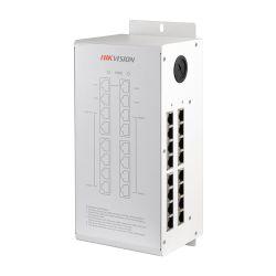 Hikvision DS-KAD612 - Switch PoE específico, 16 puertos de salida IP,…