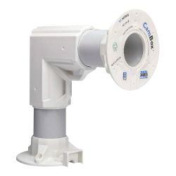 CBOX-L9015 - Soporte de pared acodado, Apto para uso exterior,…