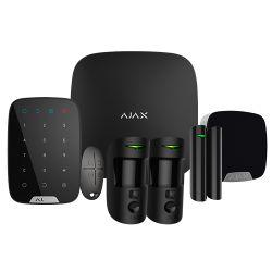 Ajax AJ-HUB2KIT-DP-PRO-B - Kit de alarma profesional, Certificado Grado 2,…