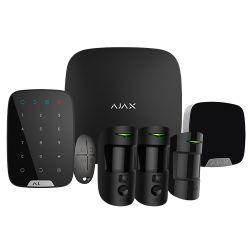 Ajax AJ-HUB2KIT-MP-PRO-B - Kit de alarma profesional, Certificado Grado 2,…