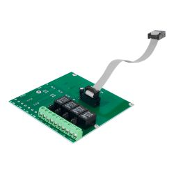 Dmtech DMT-M9000R-4 - Módulo de relé covecional DMTECH, 4 salidas de…