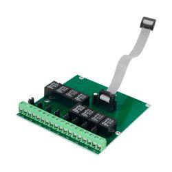 Dmtech DMT-M9000R-8 - Módulo de relé covecional DMTECH, 8 salidas de…