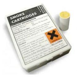 Honeywell CLAS-003 10 cartuchos de 3 gramos para la generacion de humo de color gris durante 40 segundos.