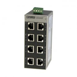 Hochiki EL-SWT8 Firescape ethernet switch 8 port