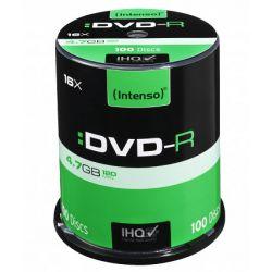Bac DVD-R INTENSE 4,7GB 100uds