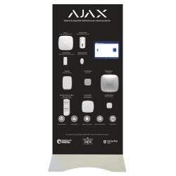Ajax AJ-BTOTEM2-W-ES - Expositor Demo de pie Ajax, Kit de alarma profesional…