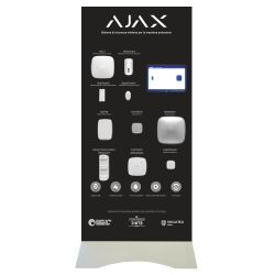 Ajax AJ-BTOTEM2-W-IT - Expositor Demo de pie Ajax, Kit de alarma profesional…