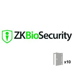 Zkteco ZKBIOSECURITY-10D - Access Control Software License, Capacity 10 doors,…