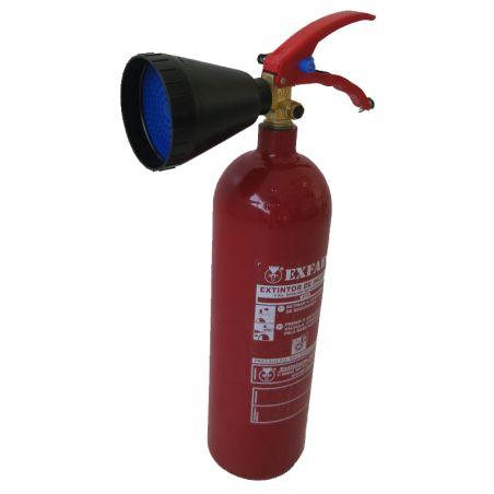 Golmar C2 co2 fire extinguisher 2kg