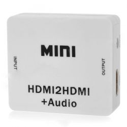 Splitter HDMI a HDMI+Audio
