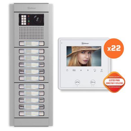 Golmar E8222/VESTA2 SE 22p video building kit