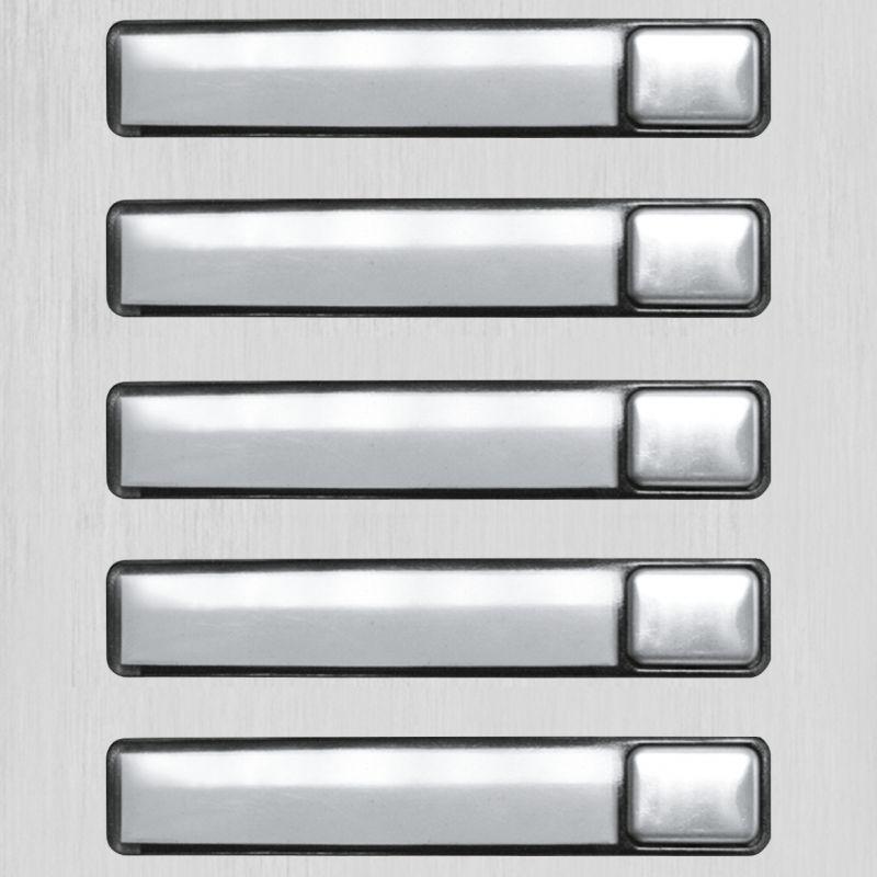 Golmar N3150/AL 5p push button module