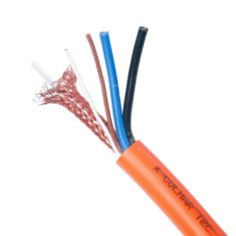 Golmar RAP-5130/MIL mang 2 + 2 + coaxial bc cable (mil)