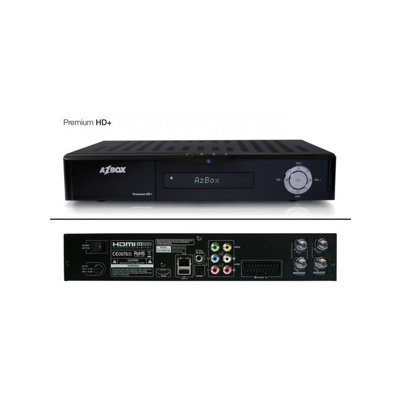 Azbox Premium+ Plus HD Twin (SAT+SAT)