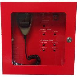Golmar DVA6-500FM Microfone de evacuação de incêndio de 4 zonas