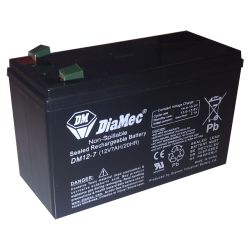 Golmar BAT-7A battery 12v 7 ah