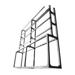 VW-FBRACKET-55-2X2 - Frame for Video Wall, Floor mounting, Suitable for 4…