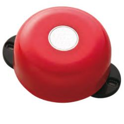 Incendio OEM FOC-505 Low consumption metal bell. Red color