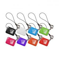 Visonic K-303465 Pack de 8 étiquettes de proximité Chicklets…