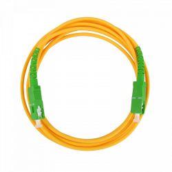Latiguillo fibra óptica 2m SC/APC preconectorizado Televes