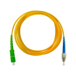 Fiber optic cable 2m SC/APC...