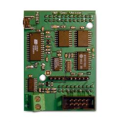 Crow VOICE-BOARD Card to transmit voice to telephone, to control…