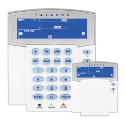 Paradox K37 LCD keypad 2 way via radio