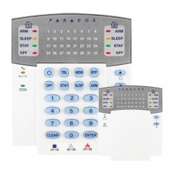 Paradox K32RF Clavier leds de 32 zones via radio bidirectionnel