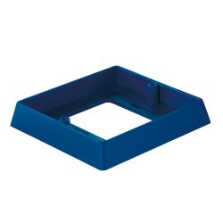 Demes OEM DEM-1068 Blue frame to embed the push button DEM-293