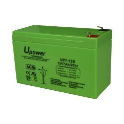 BATT1270-U - Batería recargable, Plomo ácido AGM, Voltaje 12 V,…