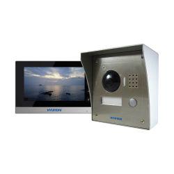 Hyundai HYU-134 IP kit: Outdoor video phone door + surface box…