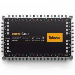 EuroSwitch 17 entradas - 16...