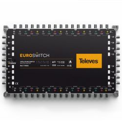 EuroSwitch 17 inputs - 16...