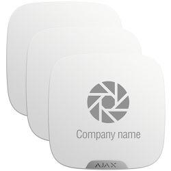 Ajax 10XAJ-BRANDPLATES-W - Ajax, Customizable cover for external siren, Suitable…