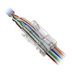 CON300-CAT5-EZ - Conector RJ45 para crimpar, Especial categoría 5,…