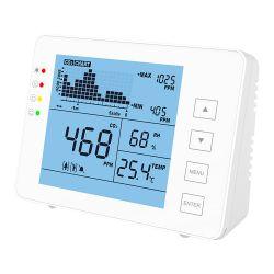 MT-CO2-1200P - Medidor de CO2, temperatura y humedad, Con alarma…