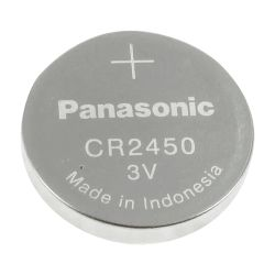 BATT-CR2450 - Battery CR2450 Panasonic, 3.0 V, Lithium, High…